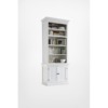 Halifax White Painted Bay Hutch Display Unit 4