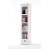 Halifax White Painted Bookcase With Drawer 2