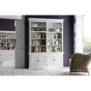 Halifax White Painted Double Display Unit 1