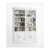 Halifax White Painted Double Display Unit 2