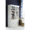 Halifax White Painted Double Display Unit 3