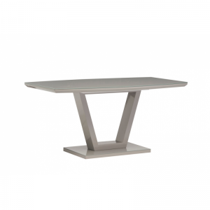 Venice Grey Gloss Dining Table 1