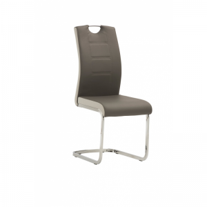 Venice Grey Cantilever Dining Chair