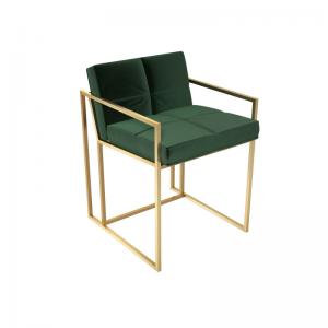 Federico Deep Green Velvet Dining Chair 2