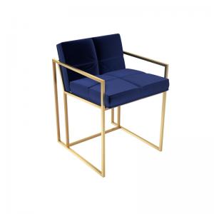 Federico Midnight Blue Velvet Dining Chair 2