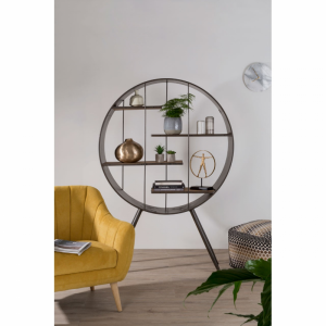 Trinity Round Shelf Unit