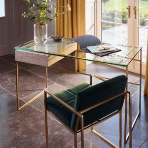 Federico Weathered Oak Desk 3