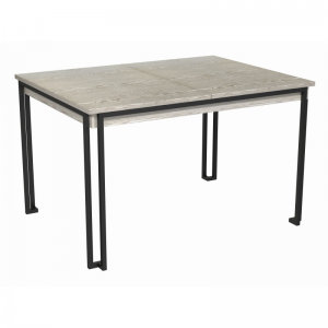 Federico Weathered Oak Extending Dining Table