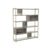 Federico Weathered Oak High Bookcase 3