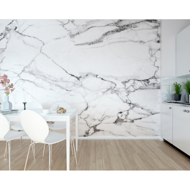 Marble Effect Wall Mural | Wallpaper & Wall Murals | FADS