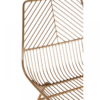 District Gold Metal Wire Chair 5