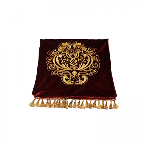 burgundy throw