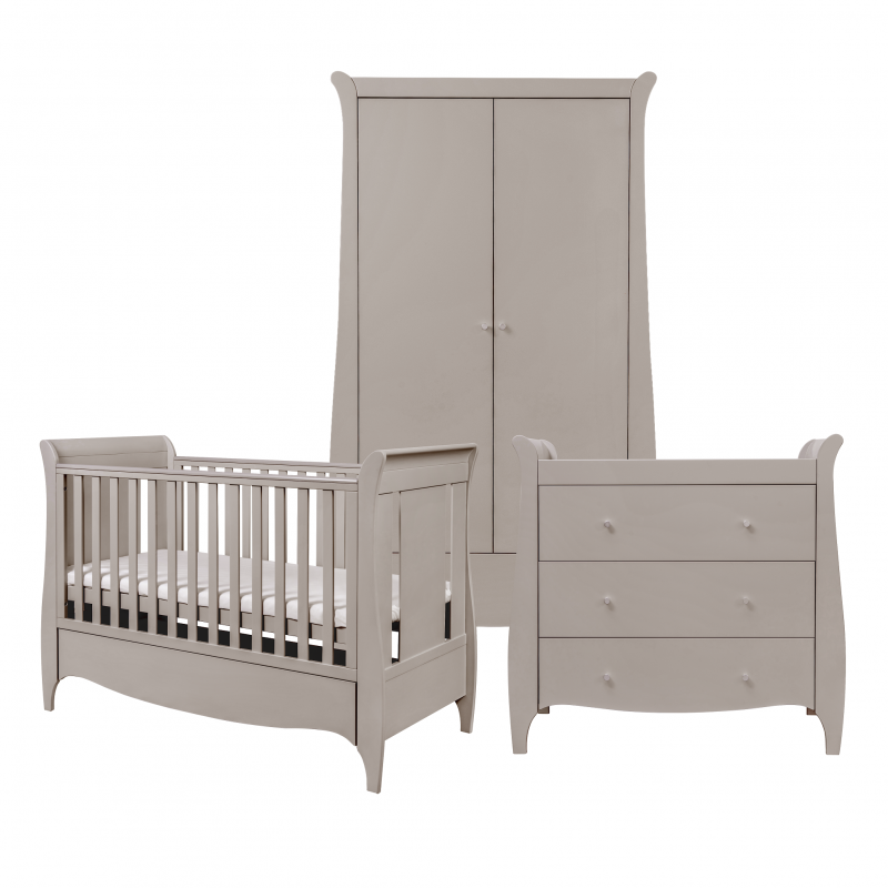 Roma 3 Piece Room Set Truffle Grey