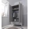 roma truffle grey wardrobe 1