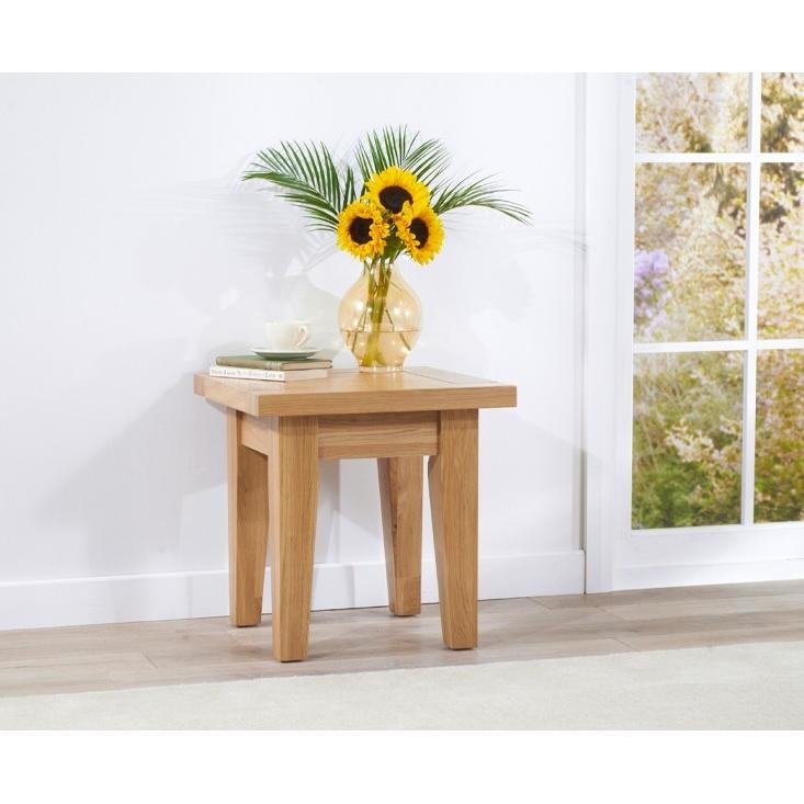 Cambridge Oak Lamp Table