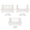 louis cot bed white 2