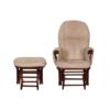 reclining chair walnut 3