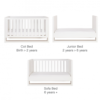 rimini cot bed white 3
