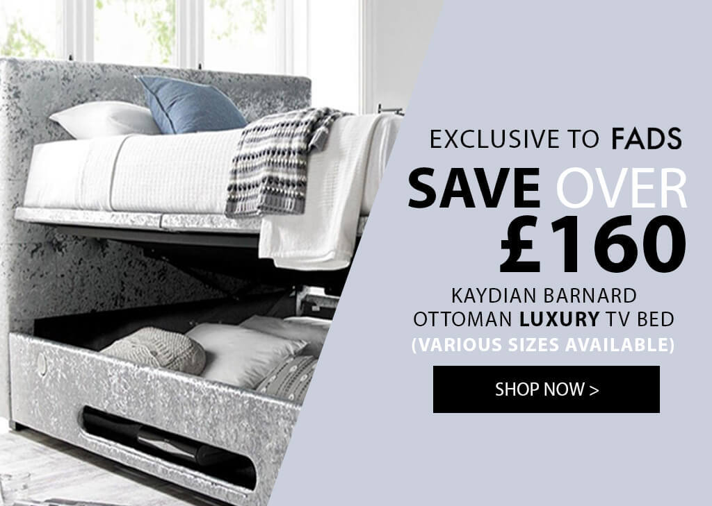 Kaydian Barnard Ottoman Luxury Media TV Bed